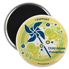 Child Abuse Prevention Yello Magnet