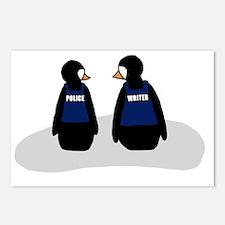penguincolour copy Postcards (Package of 8)
