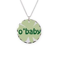 obaby shamrock_dark Necklace