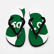 obaby shamrock Flip Flops