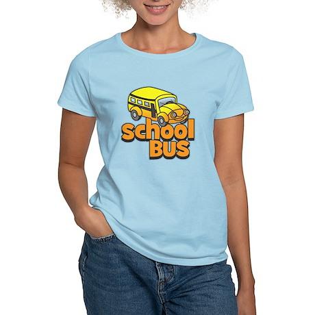 Simple School Bus Women's Light T-Shirt