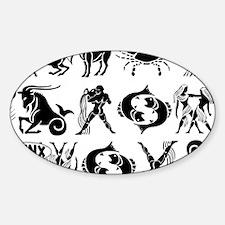 ZodiacCLUTCH Sticker (Oval)
