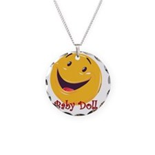 Happy Baby Doll 10x10 Necklace