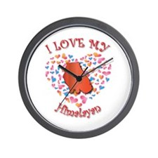 Love My Himalayan Wall Clock