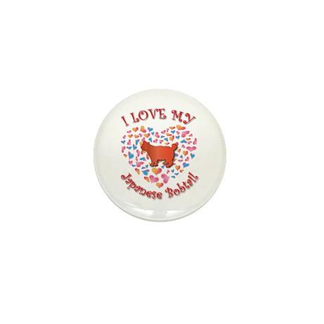 Love My Bobtail Mini Button (10 pack)