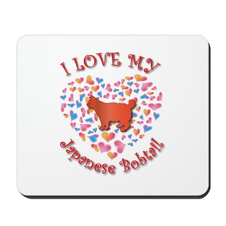 Love My Bobtail Mousepad