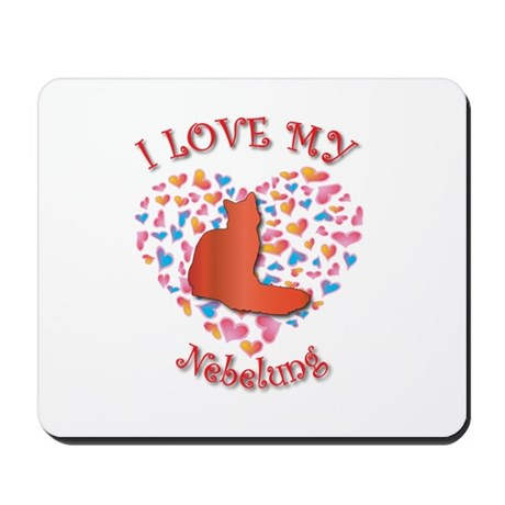 Love My Nebelung Mousepad
