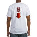 THIS IS THE PLACE! Fitted T-Shirt