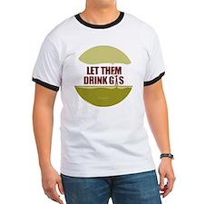 No Fracking - Let Them Drink Gas - lg but T