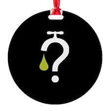 No Fracking - Got Fracking? - mini  Ornament