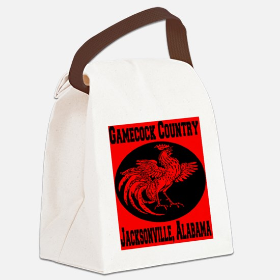 gamecock_country_fighting_cock Canvas Lunch Bag