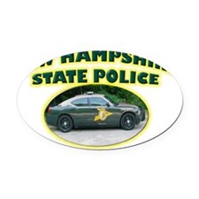 newhampshiredodge Oval Car Magnet