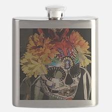 Mayan Rainbow Flask