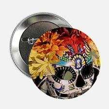 """Mayan Rainbow 2.25"""" Button"""