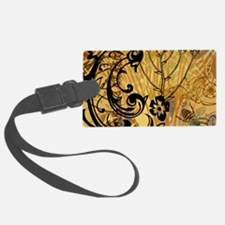 PRINTS - BEE floral Luggage Tag
