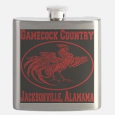 gamecock_country_ellipse_red_black Flask
