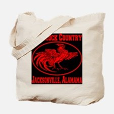 gamecock_country_ellipse_red_black Tote Bag