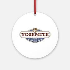 Yosemite National Park Ornament (Round)