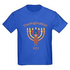 Thanksgivukkah 2013 Kids T-Shirt