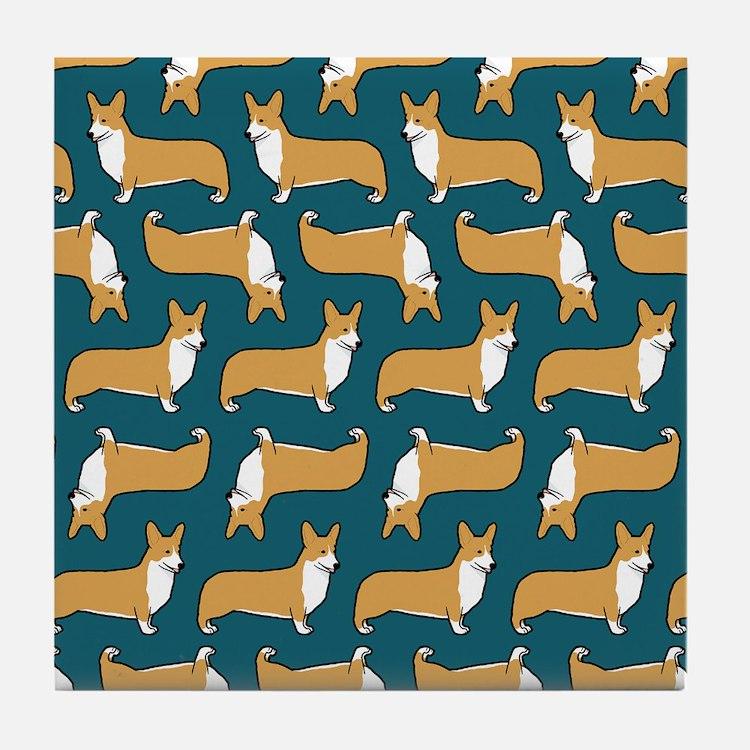 corgipillow Tile Coaster