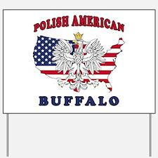 Buffalo New York Polish Yard Sign