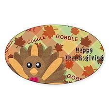 Gooble! Gooble!  Gooble!  Happy Tha Decal