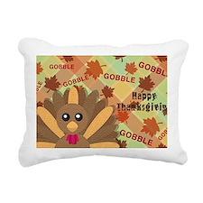 Gooble! Gooble!  Gooble! Rectangular Canvas Pillow