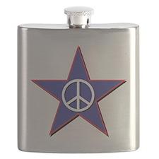 Peace Star Flask