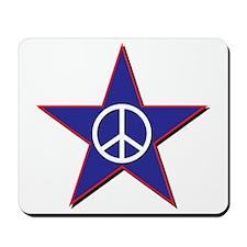 Peace Star Mousepad