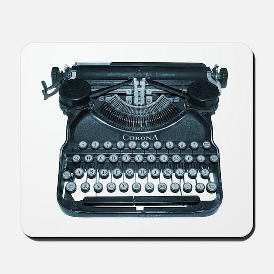 antique typewriter Mousepad