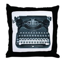antique typewriter Throw Pillow