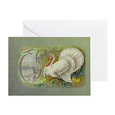 Greetings of Thanksgiving Greeting Card