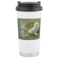 Greetings of Thanksgiving Travel Mug