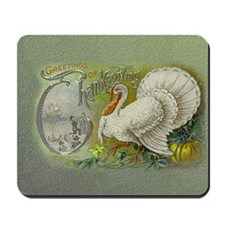 Greetings of Thanksgiving Mousepad