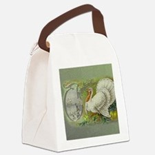 Greetings of Thanksgiving Canvas Lunch Bag