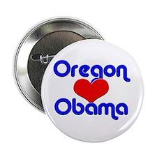 Oregon for Obama Button