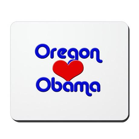 Oregon for Obama Mousepad