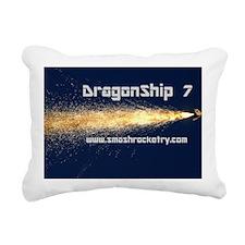 dragonship-cap Rectangular Canvas Pillow