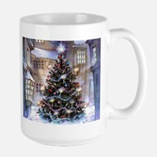 Lovely Old Fashioned Christmas Large Mug