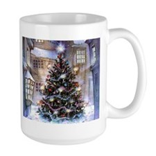 Lovely Old Fashioned Christmas Mug