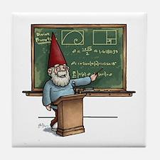 Knowledge Gnome Tile Coaster