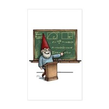 Knowledge Gnome Rectangle Decal