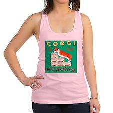 Square Corgi 1 Racerback Tank Top