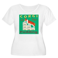 Square Corgi  T-Shirt
