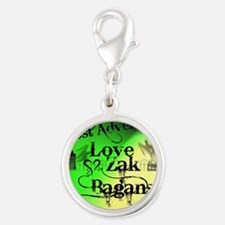 Ghost Adventures4 Silver Round Charm