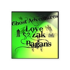 "Ghost Adventures4 Square Sticker 3"" x 3"""