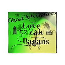 Ghost Adventures4 Throw Blanket