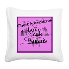 Ghost Adventures3 Square Canvas Pillow