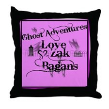 Ghost Adventures3 Throw Pillow