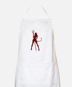 Devil Girl BBQ Apron